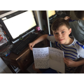 More fantastic writing - this time from Thomas