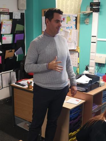 Mr  Davis- Elder Class