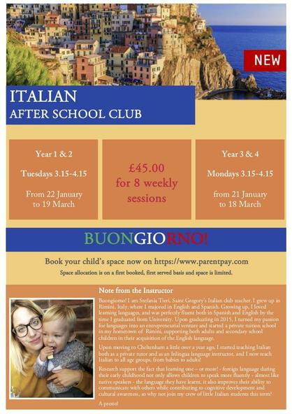 Italian After School Club