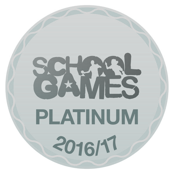 School Games platinum award logo