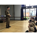 Our assembly taught us how the war started.