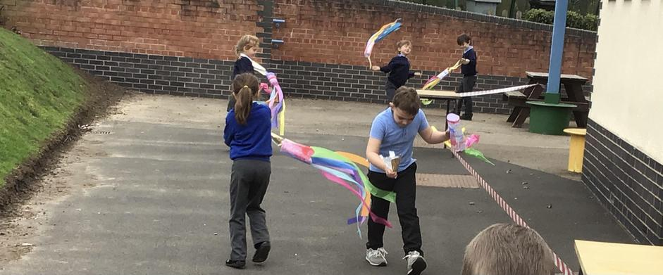 Gliding with our wind streamers