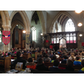 A formal Easter Service as a whole school