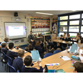 Question time- Lee knew lots of interesting facts.