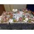 Reception children's gingerbread stall