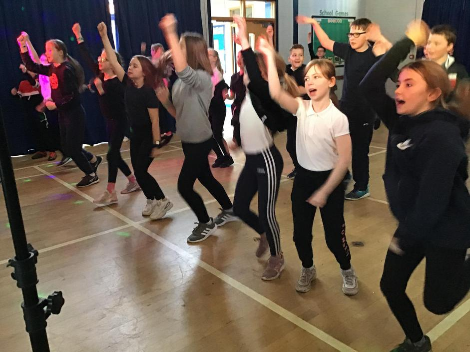 Disco dance lesson