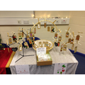 Year 1's Christmas gift tag stall