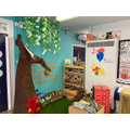The Hundred Acre Wood reading and exploration area in 1A.