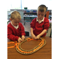 We have found lots of ways to use ribbons for threading.