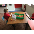 We develop our fine motor skills through table top play