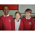 Panashe, Amy (winner) and Daniel