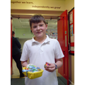 Oliver -  Runner Up Year 4 - God Egg