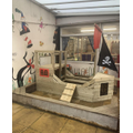 Pirate Ship in our Outdoor Area