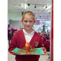 Phoebe -  Runner Up Year 4 - Bonfire Egg