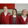 Ellie, Isabelle (winner) and Maisy