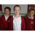 Charlotte, Grace (winner) and Alfie