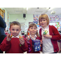 Our Reception Egg Decorating Winners