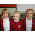 Hannah, Warren (winner) and Hazel
