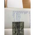 WW1 writing