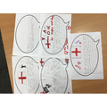 Year 3 Letters of encouragement and support for the England National Team after the Final