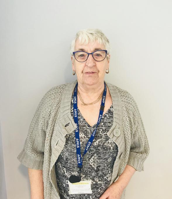 Mrs Tevlin, Teaching Assistant