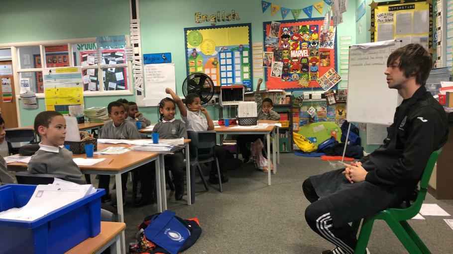 Mr Miller's deputy fielding questions