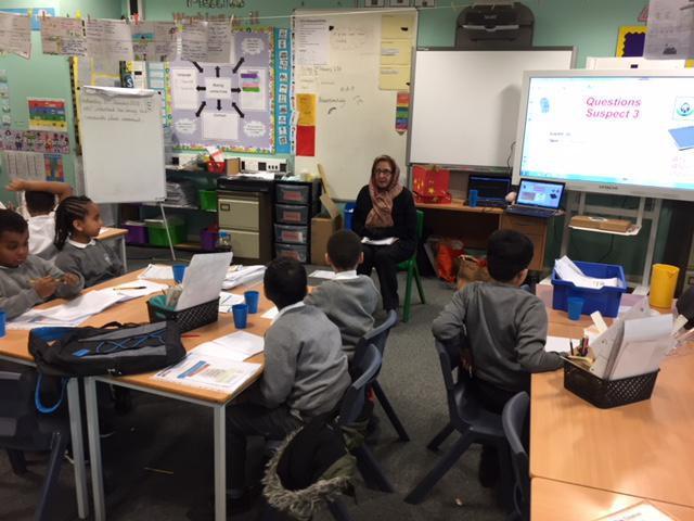 Mrs Maureen Alfreton responds to questions.