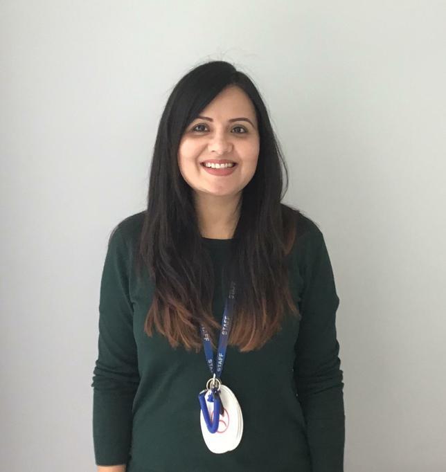 Miss Jemshaid, Teaching Assistant