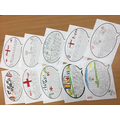 More letters of encouragement and support for the football team from Year 3