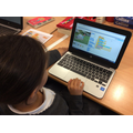 Year 5 using scratch to develop their own games