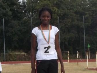 Gold- fastest 80m year 6 girl in Enfield