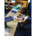 We have been reading, telling and writing about the story Owl Babies.JPG