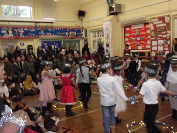Year 1 performed 'The bossy Christmas fairies'.JPG