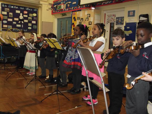 Here they performing to Year 1