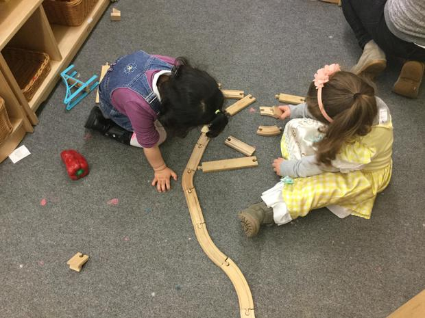 We are learning to play and work together