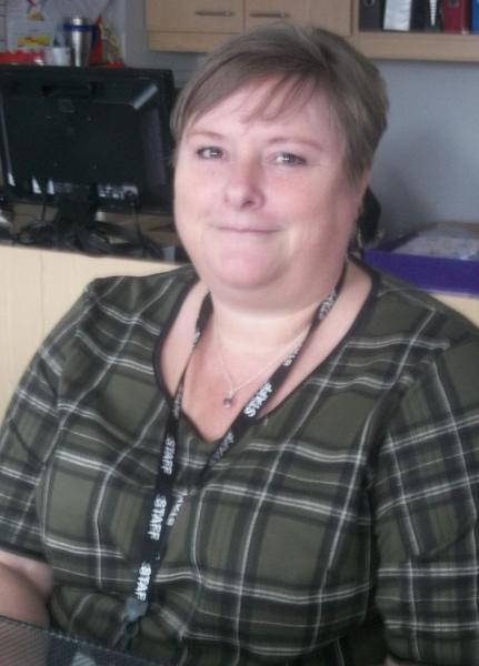 Mrs Sparks-Admin Assistant