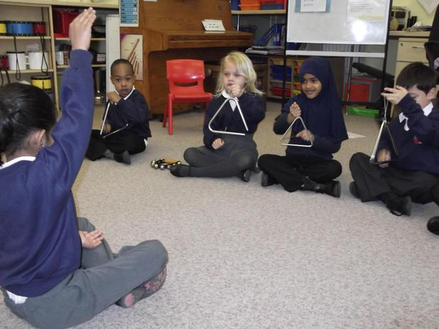 Year 1 taking control of getting louder and getting quieter