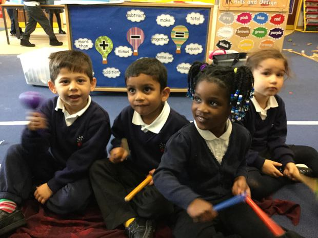 We have been exploring musical instruments