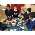 Number cup cakes were a really fun way to practise our numbers..JPG