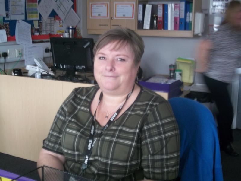 Mrs Sparks - Admin Assistant