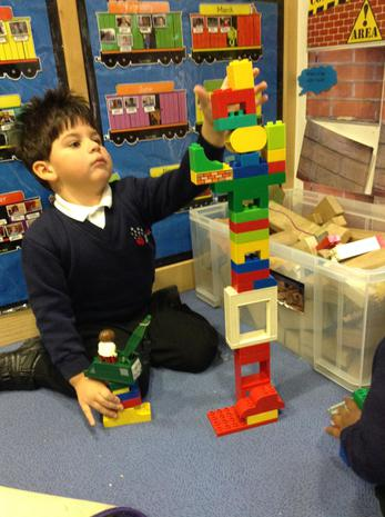 We enjoy constructing towers and other buildings
