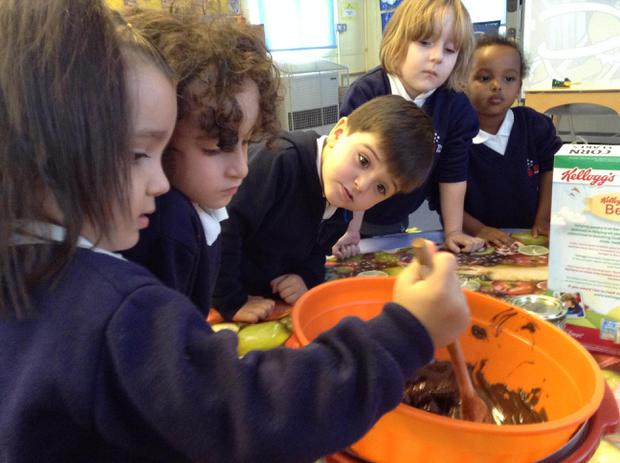 We have been talking about cooking and the smell of our ingredients