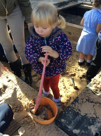 We have been using different tools in the sand area