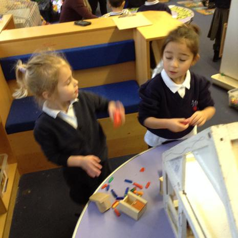 We are learning to play alongside our friends