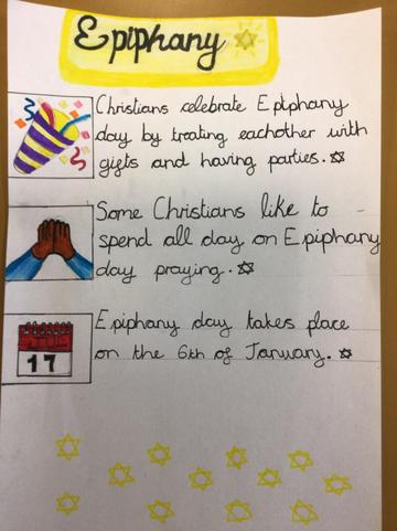 Sophie's Epiphany work