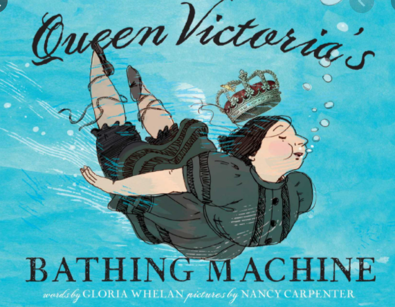 Our new book this week has been Queen Victoria's Bathing Machine