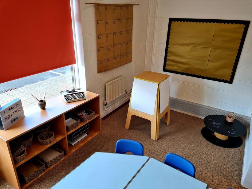 Writing Area