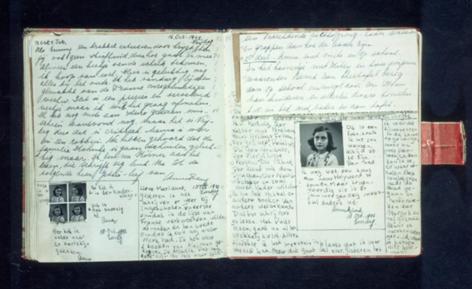 Various evacuees' diaries.