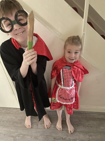 Harry Potter and Little Red Riding Hood