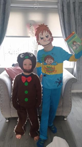 The gingerbread man and Horrid Henry
